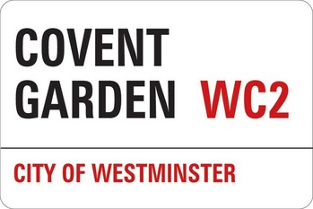Naklejka LONDON - covent garden
