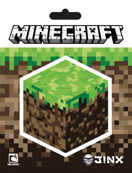 Naklejka Minecraft - Block