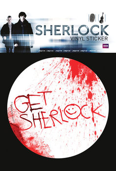 Naklejka Sherlock - Get Sherlock