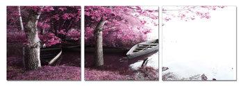 Bay - Trees in Blossoms Obraz