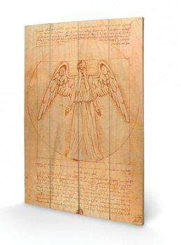 Obraz na drewnie Doctor Who - Weeping Angel