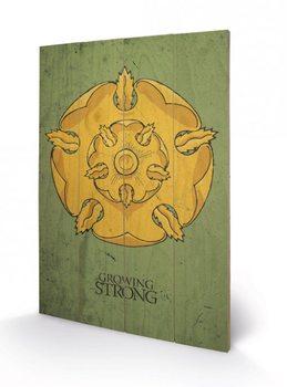 Obraz na drewnie Gra o tron - Game of Thrones - Tyrell
