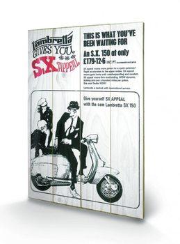 Obraz na drewnie Lambretta - SX Appeal