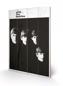 Obraz na drewnie The Beatles - With The Beatles
