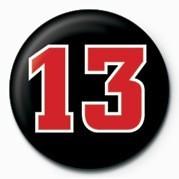 Odznaka 13 NUMBER