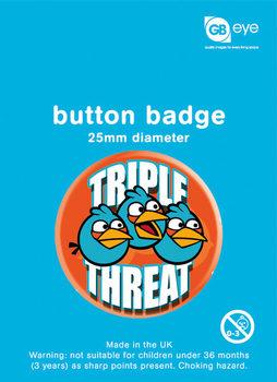 Odznaka ANGRY BIRDS - Triple Threat