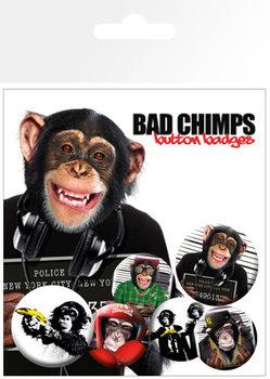 Odznaka BAD CHIMPS