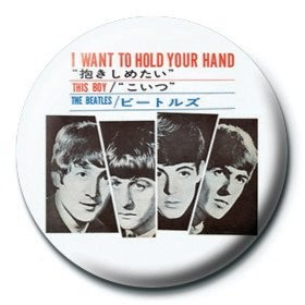 Odznaka BEATLES - i want to hold your hand
