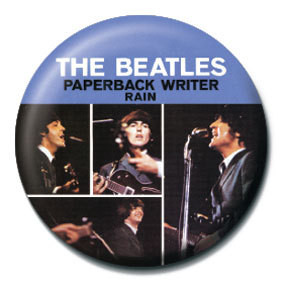 Odznaka BEATLES - Paperback writer