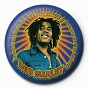 Odznaka BOB MARLEY - blue