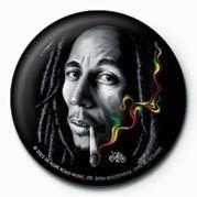 Odznaka BOB MARLEY - smoke