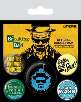 Odznaka Breaking Bad - Heisenberg Flask