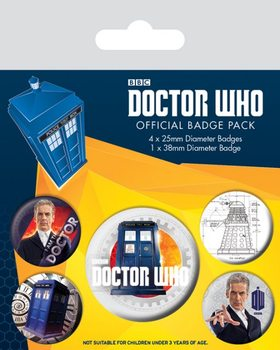 Odznaka Doctor Who - 12th Doctor