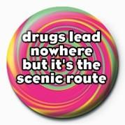 Odznaka DRUGS LEAD NOWHERE