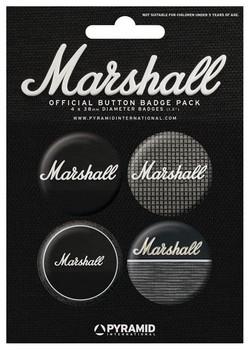Odznaka MARSHALL - amps