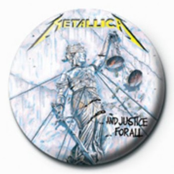 Odznaka METALLICA - justice for all GB