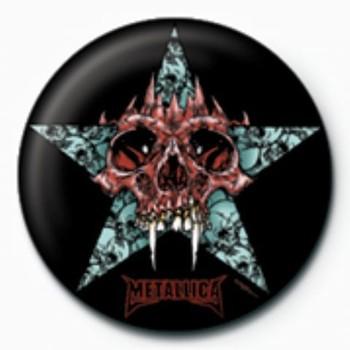 Odznaka METALLICA - star GB