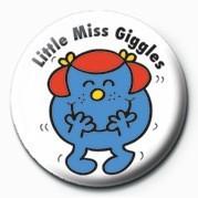 Odznaka MR MEN (Little Miss Giggle