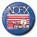 Odznaka NOFX - WAR ON ERROISM