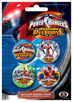 Odznaka POWER RANGERS - Colours