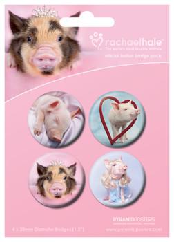 Odznaka RACHAEL HALE - cerdos