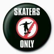 Odznaka SKATEBOARDING - SKATERS ON