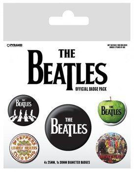 Odznaka The Beatles - White