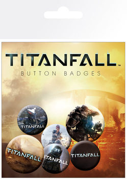 Odznaka TITANFALL - mix