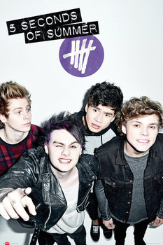 Plakat 5 Seconds of Summer - Single Cover
