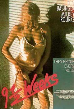 Plakat 9 1/2 tygodnia - Kim Basinger, Mickey Rourke