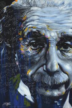 Plakat Albert Einstein - It's All Relative, Fishwick