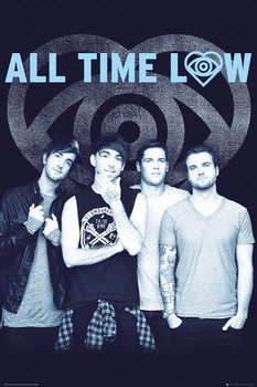 Plakat All Time Low - Colourless