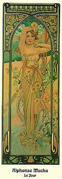 Plakat Alphonse Mucha - Le Jour, 1899