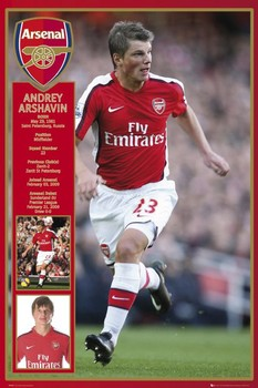 Plakat Arsenal - arshavin 09/10