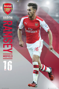 Plakat Arsenal FC - Ramsey 14/15