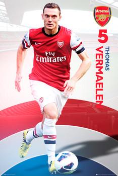 Plakat Arsenal - vermalen 12/13