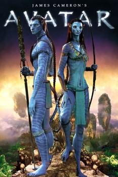 Plakat Avatar limited ed. - couple