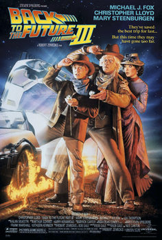 Plakat Back To The Future III