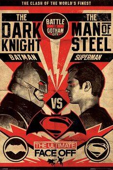 Plakat Batman v Superman: Dawn of Justice - Fight Poster
