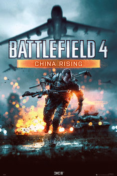 Plakat Battlefield 4 - china rissing