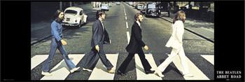 Plakat Beatles - abbey road