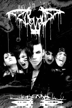 Plakat Black veil brides - darkest