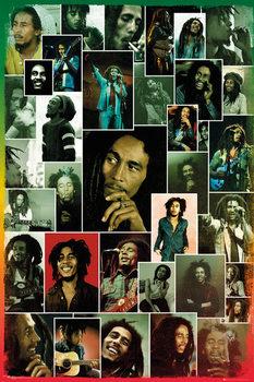 Plakat Bob Marley - Photo Collage