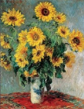 Reprodukcja Bouquet of Sunflowers, 1880-81