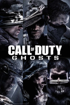 Plakat Call of Duty Ghosts - profiles