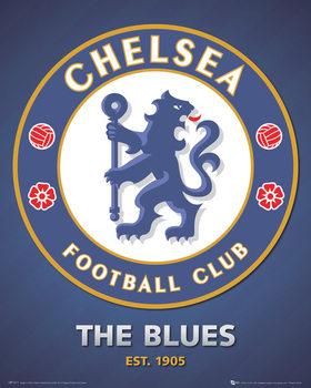 Plakat Chelsea FC - club crest