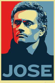 Plakat Chelsea FC - Jose Mourinho
