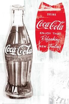 Plakat Coca Cola - retro
