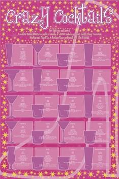 Plakat Crazy coctails