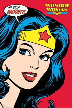 Plakat DC COMICS - wonder woman close up